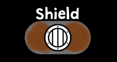 Creates a shield around a hand of the player, blocking one projectile or lightning.