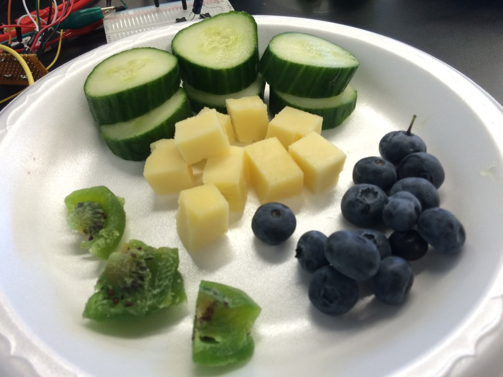 Back to fruits and cheese it is